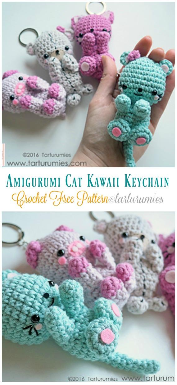 How to crochet a pillow cat /// DIY PDF | 1240x570