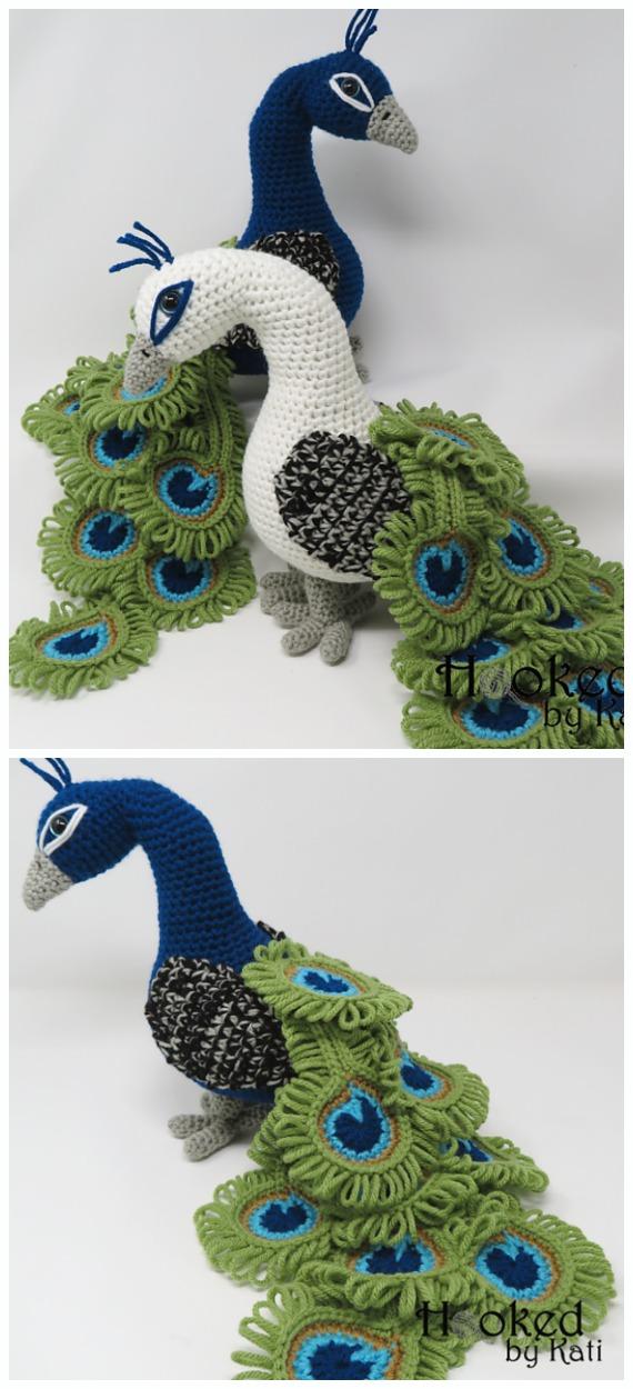 Crochet Bird Pattern | Lime Green Lady | 1250x570