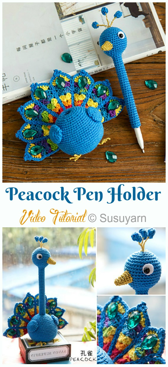 Bird Amigurumi - Fur Bird Free Crochet Pattern | Craft Passion | 1240x570