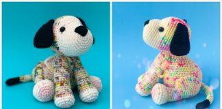 DIYHowto DIY Amigurumi Yorkie Dog Toy Free Pattern-- Crochet ... | 160x324