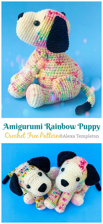 Amigurumi Mini Dog Free Pattern | 1240x570
