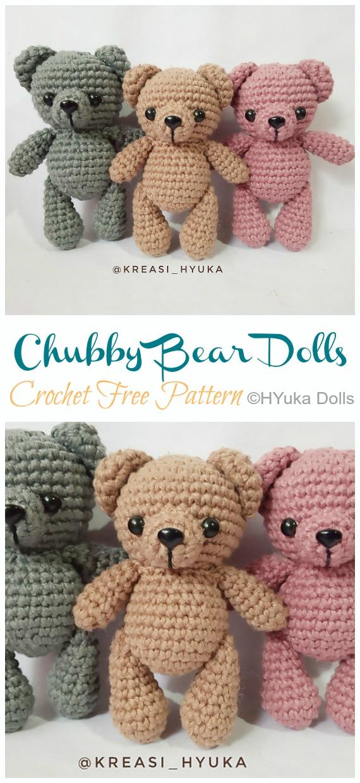 Tiny Crochet Pear - Free Pattern - Stella's Yarn Universe | 1240x570