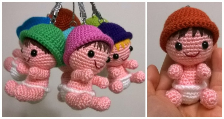 Amigurumi Unicorn Keychain Crochet Free Patterns | Crochet ... | 400x750