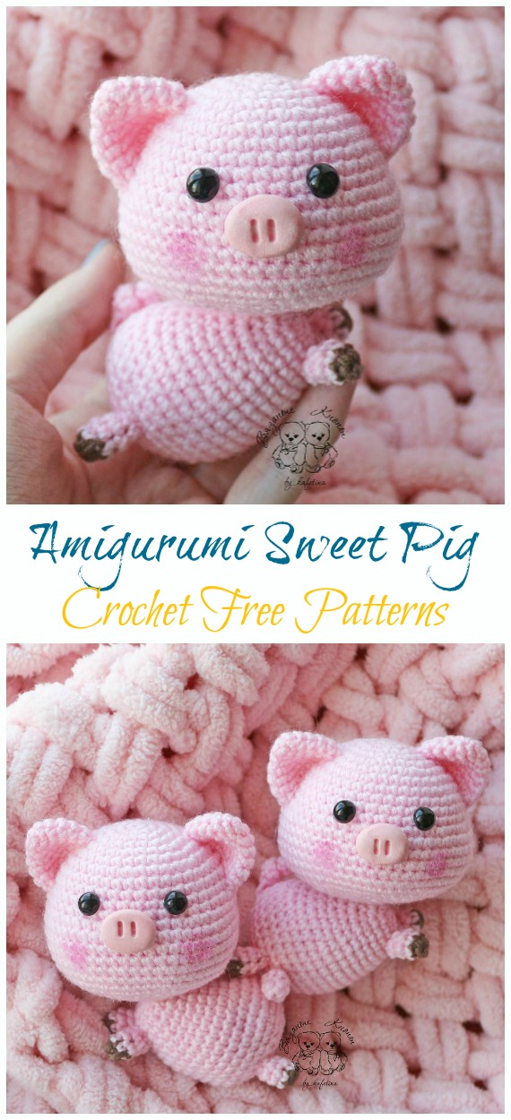 Tiny bear amigurumi pattern | Amiguroom Toys | 1250x570