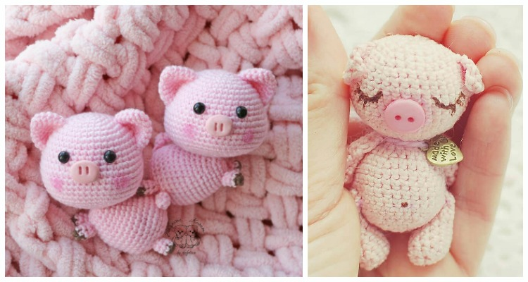 Free Crochet Patterns – Year Of The Pig – Crochet | 400x750
