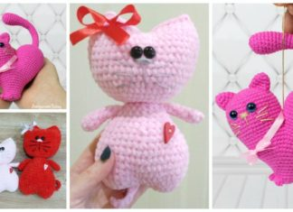 Super Quick And Easy Crochet Heart Amigurumi Pattern - Knit And ... | 235x324