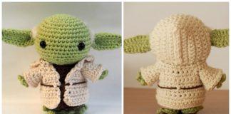 Baby Yoda Crochet Pattern: Free Amigurumi Crochet Pattern     160x324