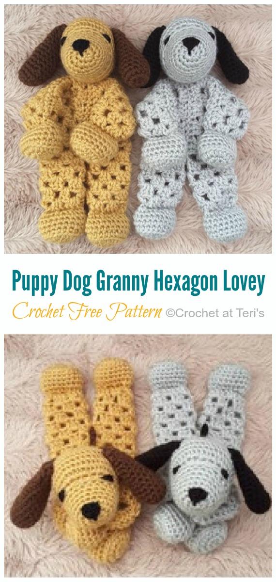 DIYHowto DIY Crochet Labrador Dog Toy Free Pattern--Crochet ... | 1200x570