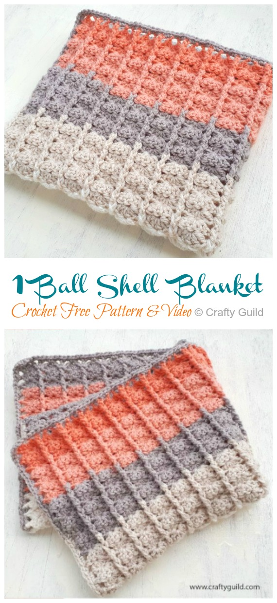 Mini Sea Shells | Free Crochet Patterns - Rebeckah's Treasures | 1240x570