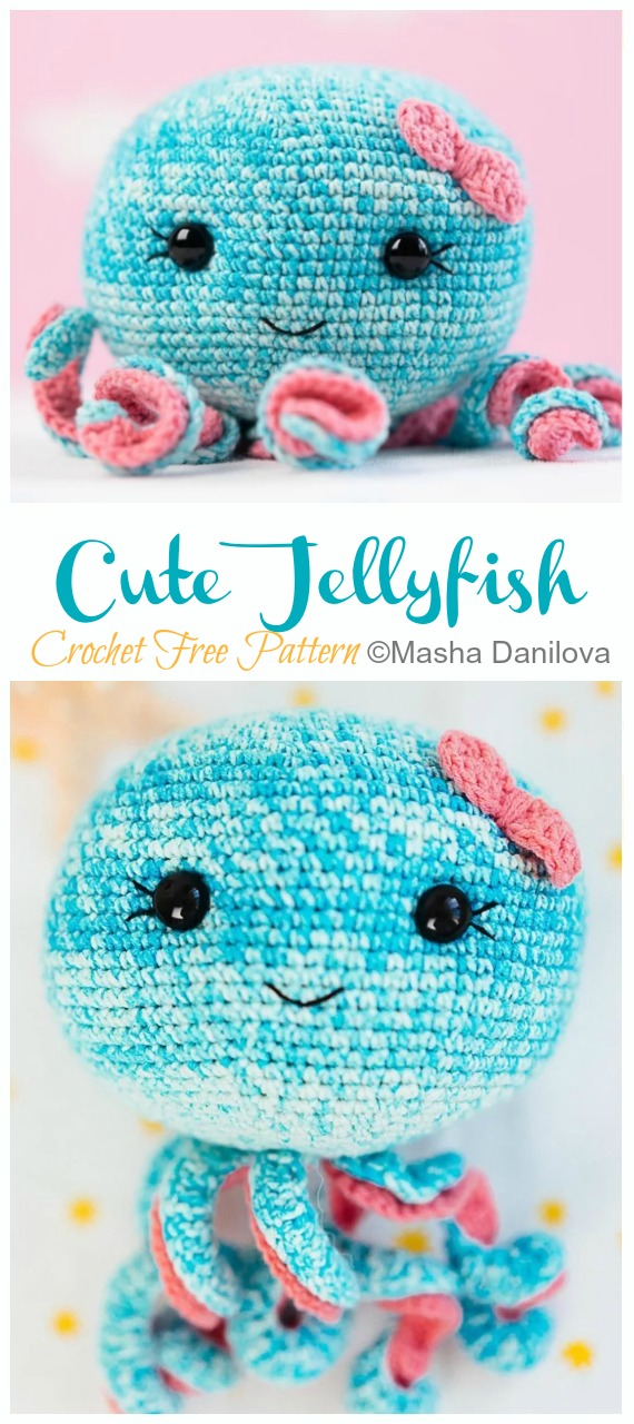 Crochet Jellyfish - One Dog Woof | 1280x570