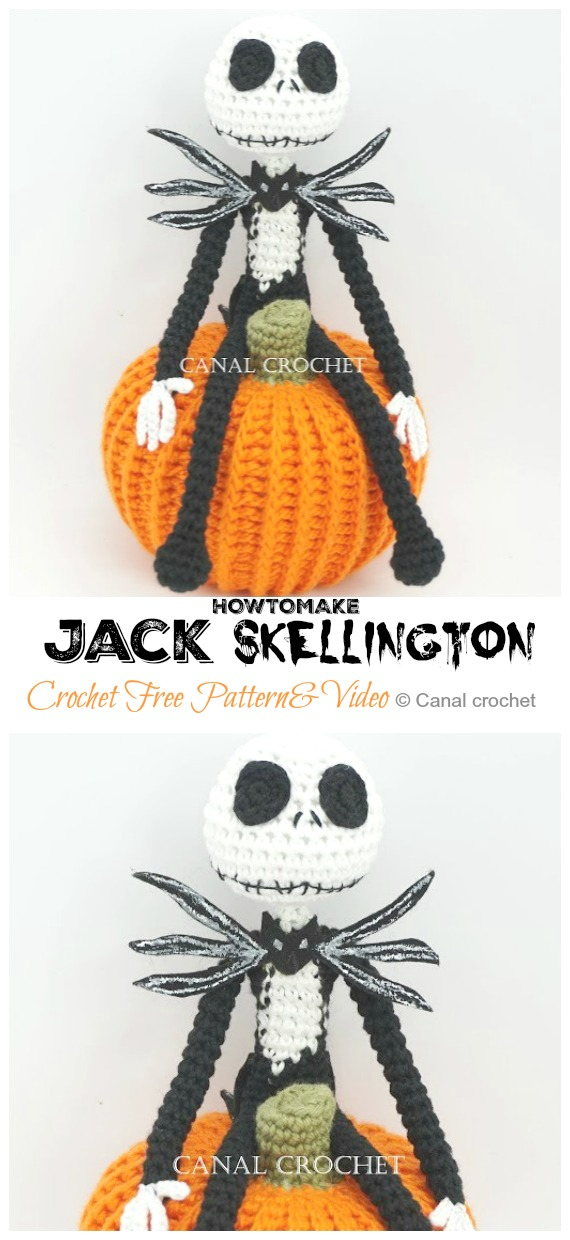 Halloween Amigurumi Free Crochet Patterns | 1240x570