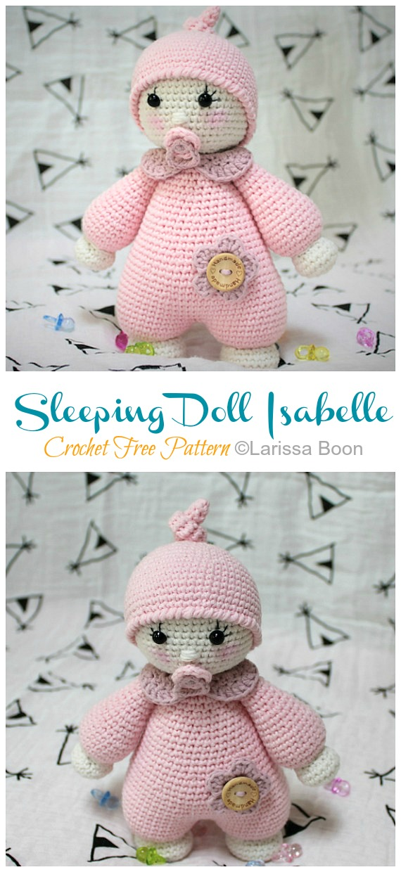 Little Doll Amigurumi Free Pattern in 2020 | Doll amigurumi free ... | 1240x570