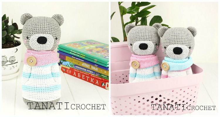 Amigurumi Crochet New Year Moose Free Pattern - Crochet Moose Free ... | 400x750