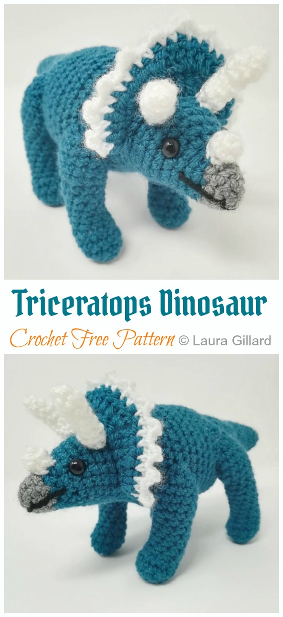 Amazon.com: Amigurumi Dinosaur, Crochet Dragon, Baby Dragon, Toy ... | 1240x570