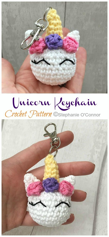 Free Crochet Unicorn Pattern - thefriendlyredfox.com | 1240x570