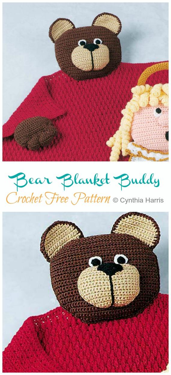 First Toy Amigurumi Toy Koala Bear Security Blanket Crochet Pattern | 1250x570