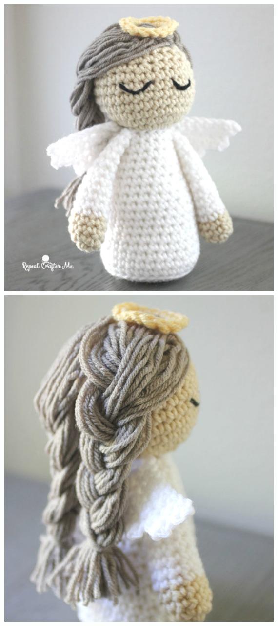 Amigurumi crochet angel pattern | 1280x570