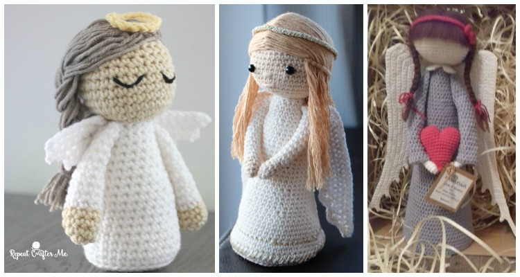 The Most Beautiful Amigurumi Doll Free Crochet Patterns (With ... | 400x750