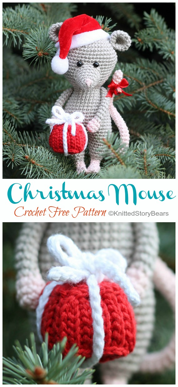 Crochet Mouse Bookmark Amigurumi Free Patterns | Crochet bookmark ... | 1240x570