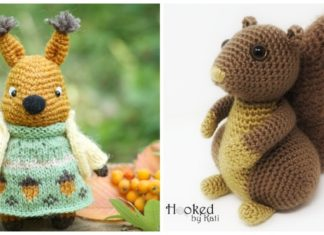 Ravelry: Crochet Squirrel pattern by Junuen Lisunia | 235x324