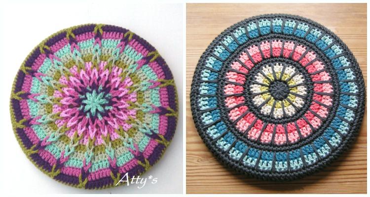 Mandala Trivet Cover Crochet Free Patterns Crochet