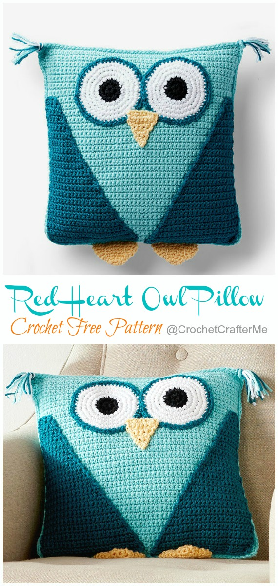 Free Crochet Patterns and Designs by LisaAuch: Free Crochet Owl ... | 1200x570
