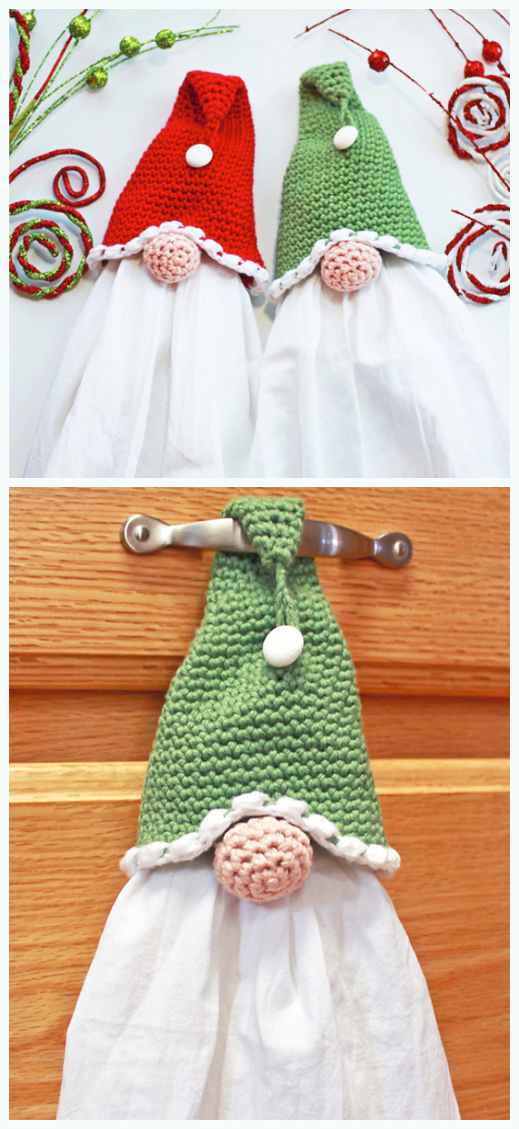 Amigurumi Gnome Free Crochet Pattern - Winding Road Crochet | 1240x570