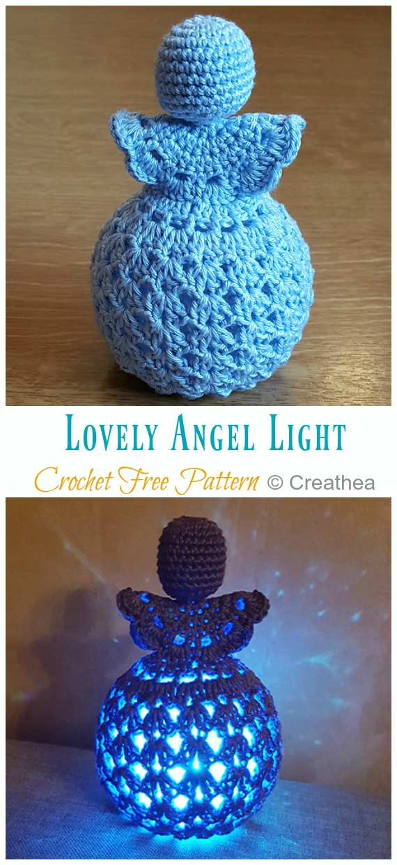 Crochet Angel Pattern - Repeat Crafter Me | 1240x570