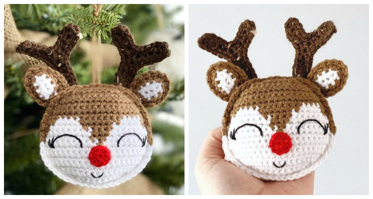Rudolph The Red-Nosed Reindeer Free Pattern Modification + Fawn ... | 400x750