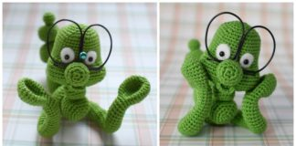 Amigurumi Crochet Pattern Chili the Parrot Bookmark by IlDikko | | 160x324