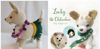 Chihuahua Amigurumi Pattern | 160x324