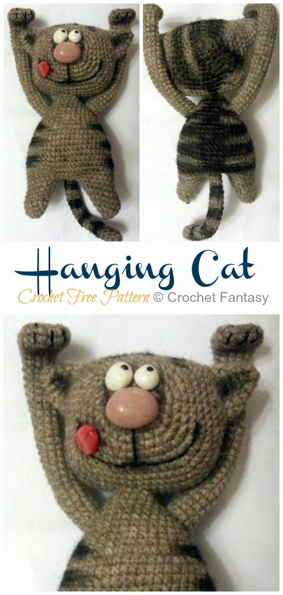 Pixie the cat amigurumi pattern crochet toy | 1200x570