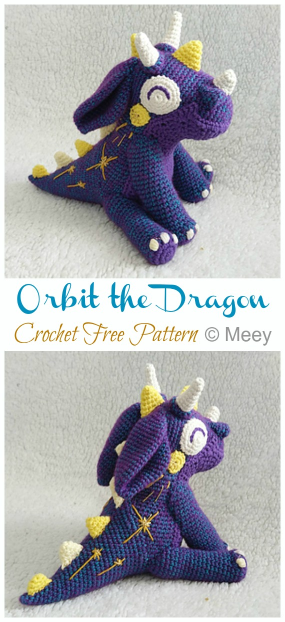 22 Totally Adorable Amigurumi Dragon Patterns You Need to Make for ... | 1240x570