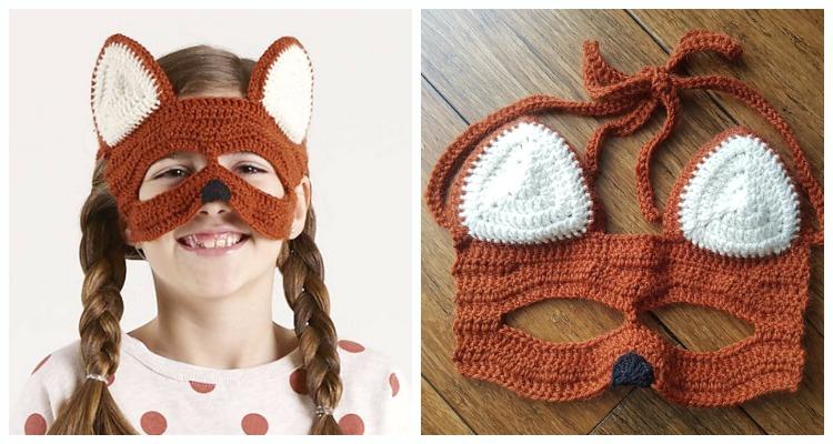 Kids Animal Mask Crochet Free Pattern Crochet Amp Knitting