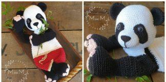 Crochet pattern Panda Bear Amigurumi Amigurumi pattern Panda   Etsy   160x324