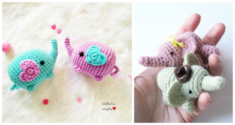 The Sweetest Crochet Elephant Patterns To Try | The WHOot | 400x750