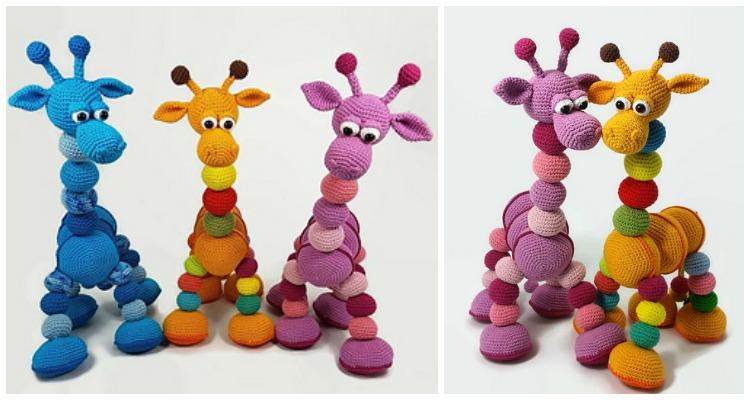 Crochet Giraffe Patterns You'll Love To Make -The WHOot | 400x750