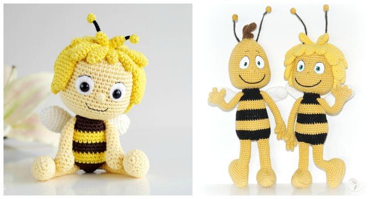 How to Crochet a Bumble Bee Amigurumi - Club Crochet | 400x750