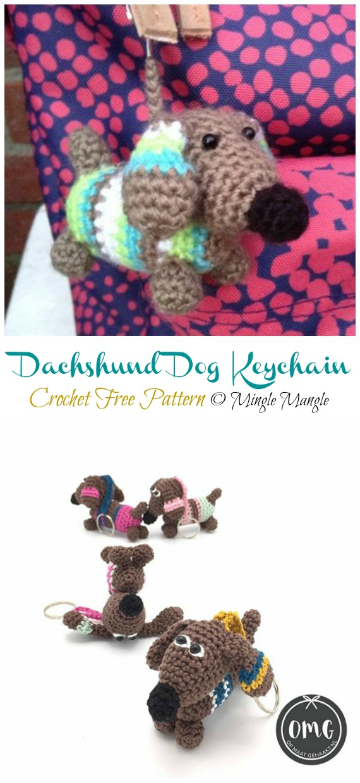 Pattern Dachshund Sam (Free Amigurumi Patterns) | Crochet ... | 1240x570