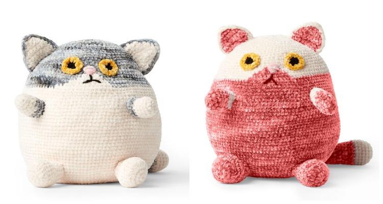 Easy Crochet Cat Patterns - Free Amigurumi Patterns • DIY & Crafts   400x750