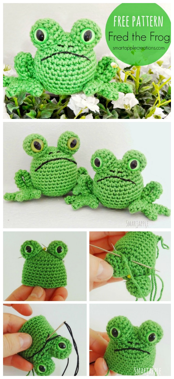 Delicious Looking Apple Amigurumi - Free Pattern | Crochet apple ... | 1240x570