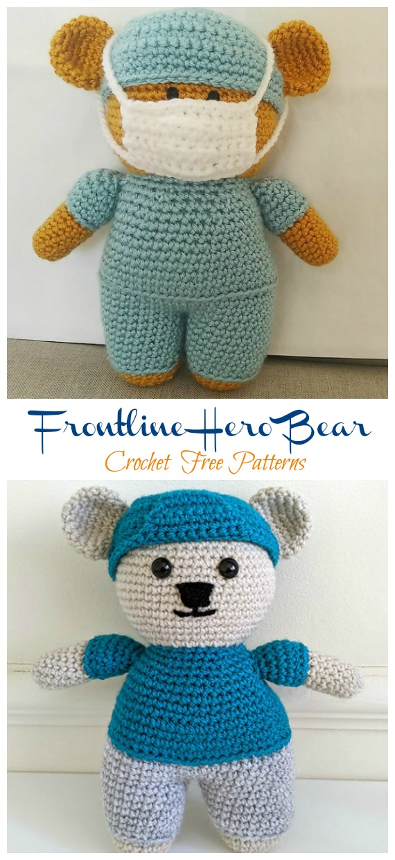 FREE PATTERN: Tiny Teddy Bear – Kristi Tullus | 1240x570
