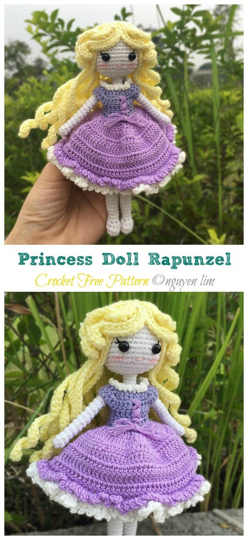 Doll Amigurumi crochet handmade belle Disney princess toy ... | 1240x570