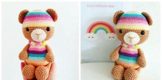 Amigurumi Crochet Teddy Bear Toys Free Patterns   Crochet teddy ...   160x324