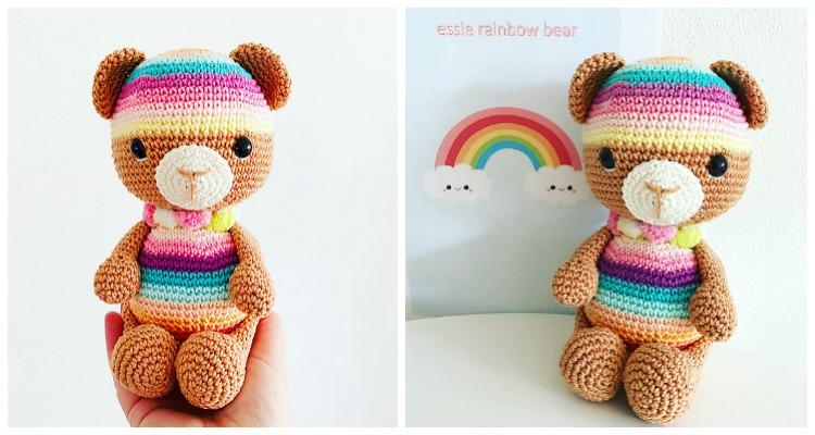 Olivia Bear Free Crochet Pattern | DailyCrochetIdeas | 400x750