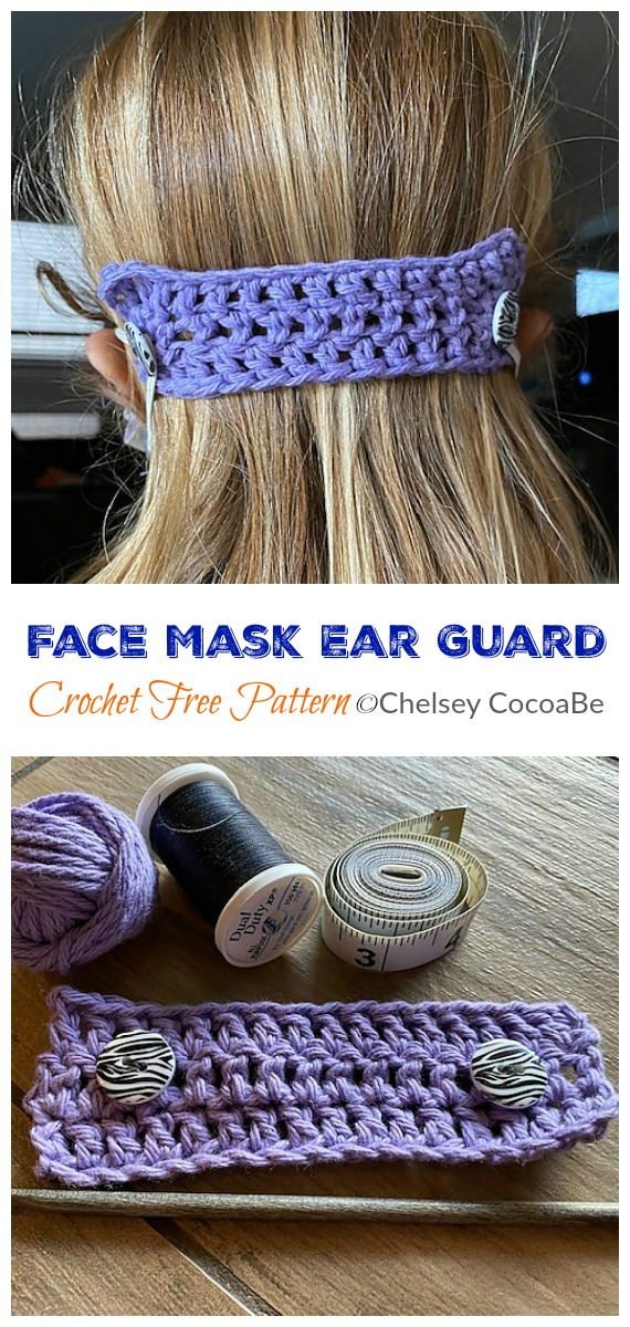 Mask Mates Crochet Free Patterns