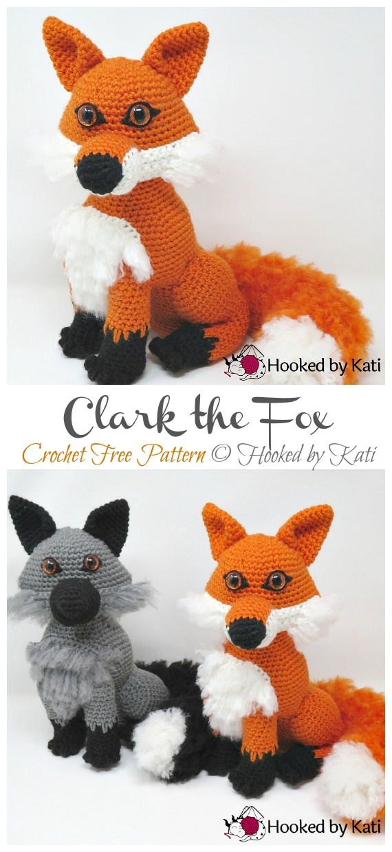 Knit or Crochet 35 of the CUTEST Amigurumi Foxes ever! | amiguru.me | 1240x570