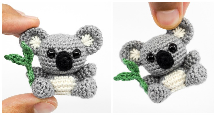 Koala Amigurumi - Free Pattern & Tutorial | Craft Passion | 400x750
