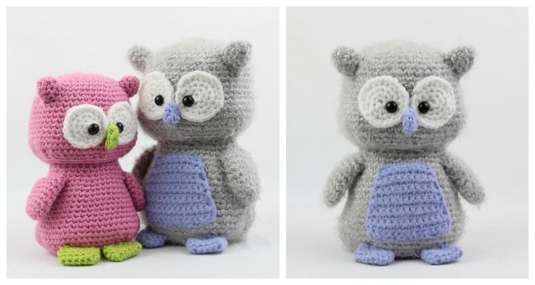 Adorable Owl Amigurumi Free Crochet Pattern | Owl crochet pattern ... | 400x750