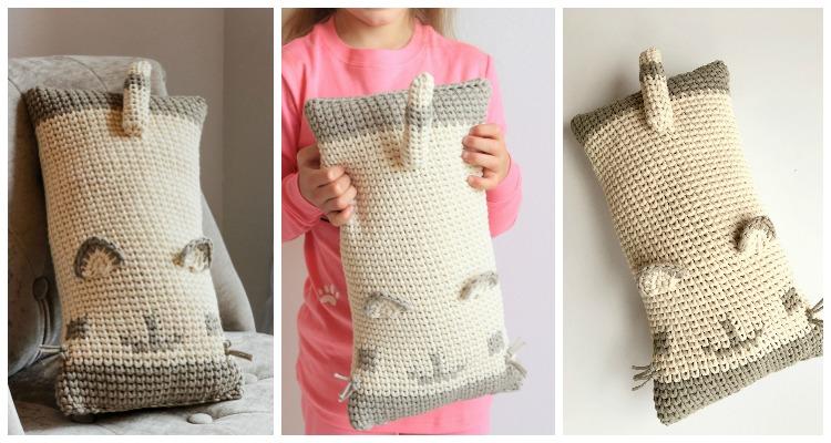 Unicorn Pillow Friend Crochet Pattern   Hooked on Homemade Happiness   400x750
